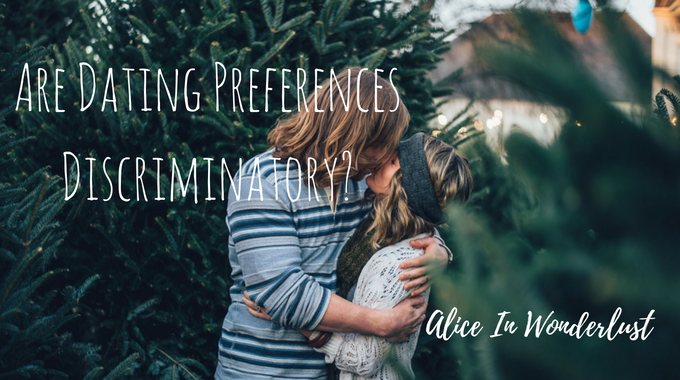 are dating preferences discriminatory?