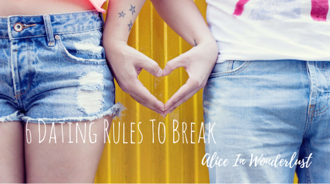 dating rules to break